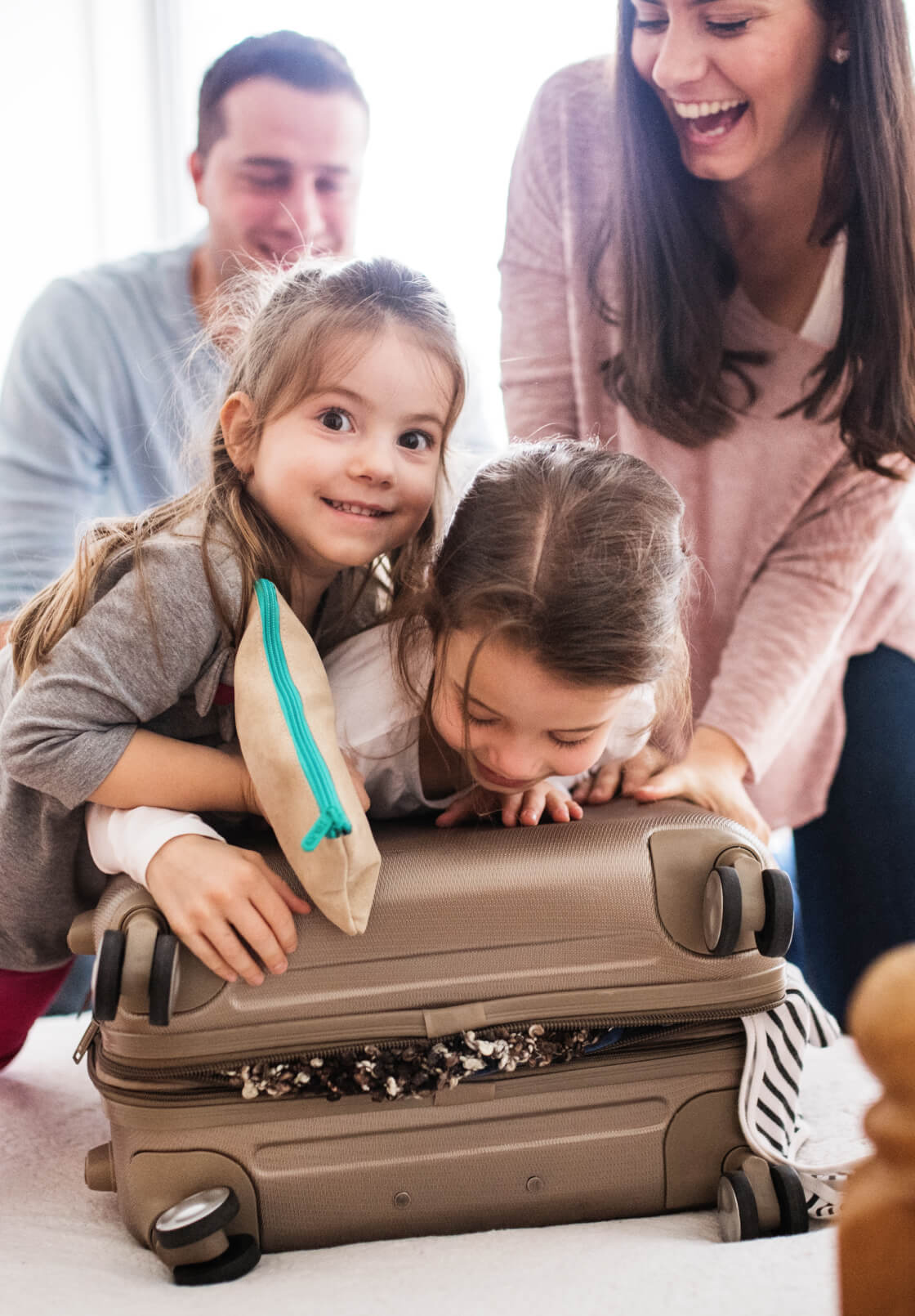 Family Packing Bags