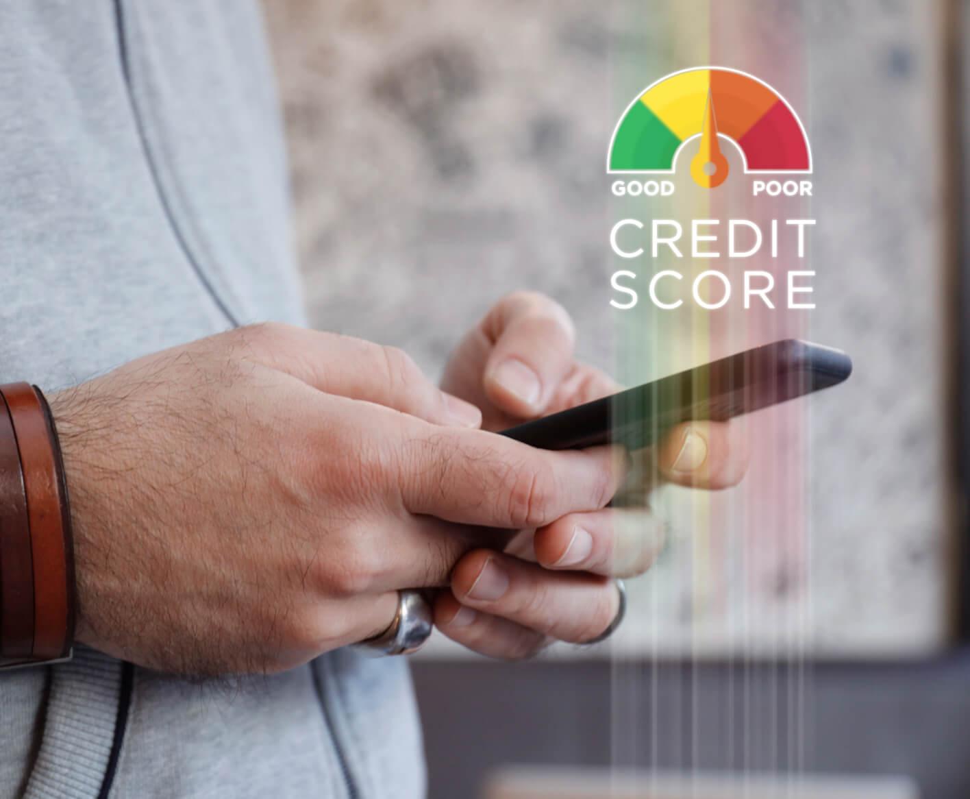 credit-score-phone