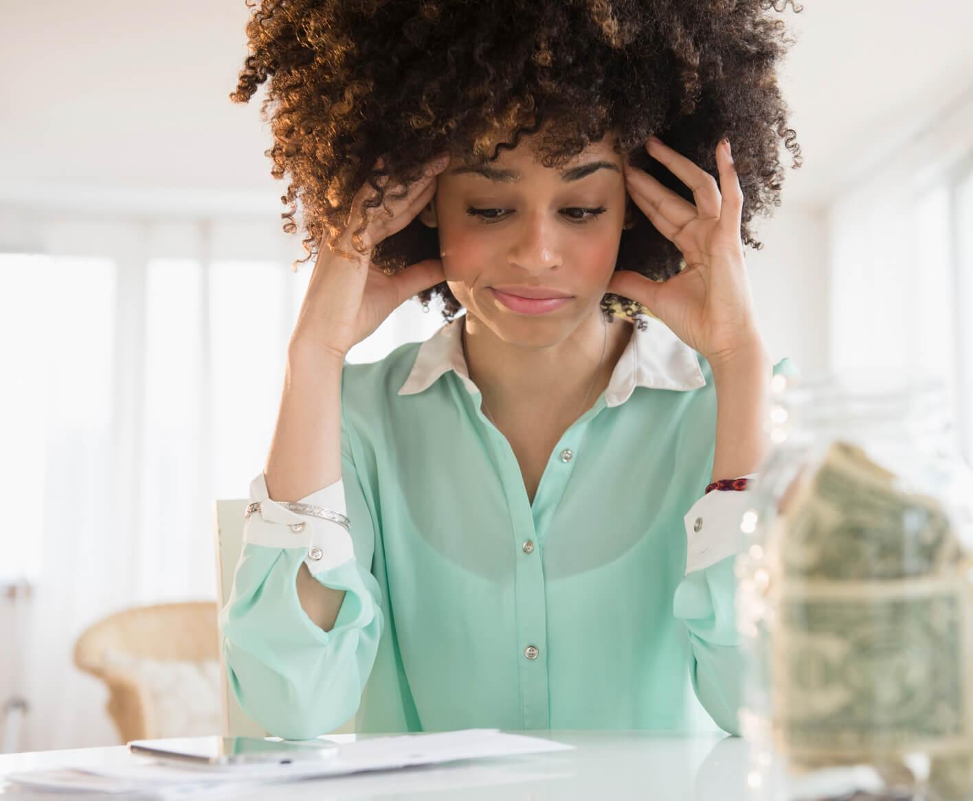 woman-distressed-budgeting