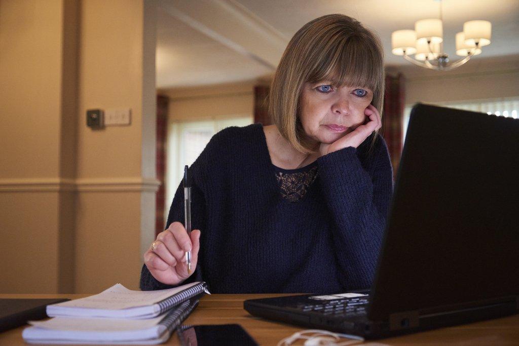 Woman needing a loan for debt